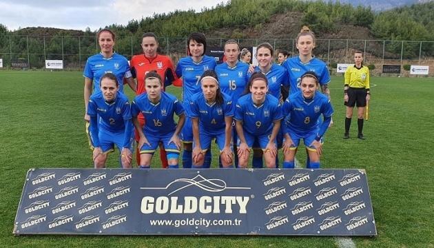 Жіноча збірна України з футболу перемогла Індію