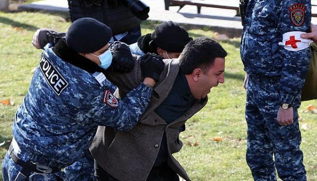 В Єревані затримали понад 50 учасників акції проти Пашиняна