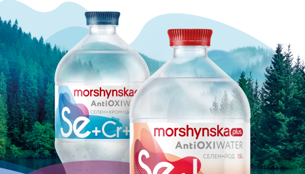 Morshynska plus AntiOxi Water: вода збагачена здоров'ям