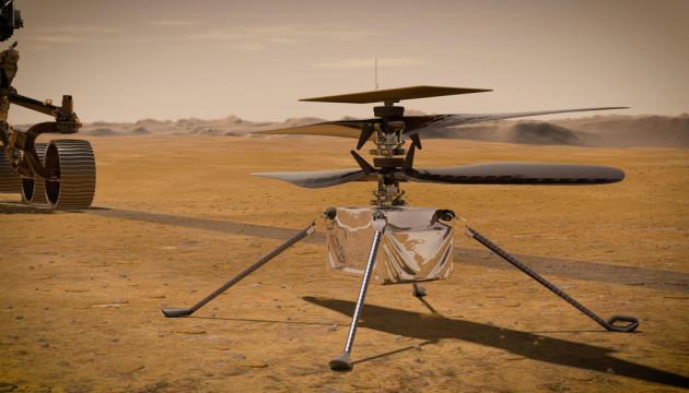 Як Винахідливість злетить над Марсом. Інфографіка