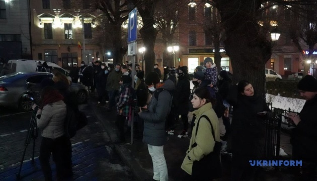 В Черновцах и Ужгороде тоже протестуют против приговора Стерненко