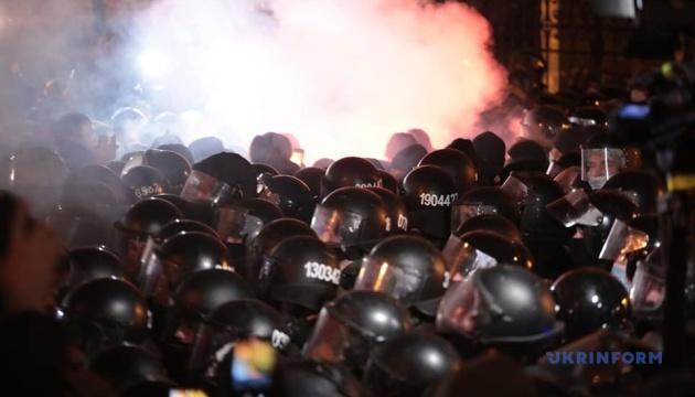 Поліція відпустила усіх затриманих під час акції на Банковій