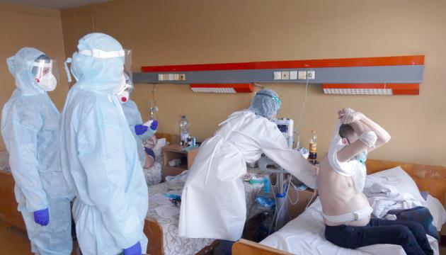 Ukraine reports 8,003 new coronavirus cases