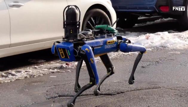 Поліція Нью-Йорка тестує робопса зі штучним інтелектом