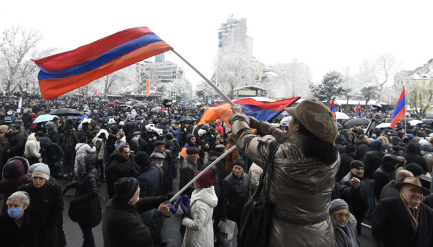 В Єревані учасники акції проти Пашиняна перекривають вулиці