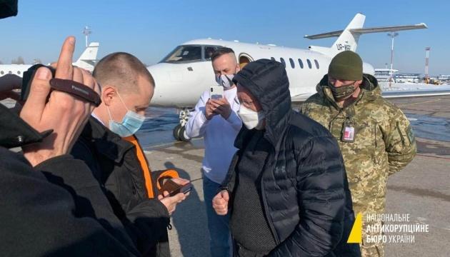 Kaution von 52 Mio. Hrywnja für Ex-Topbanker Jazenko gezahlt