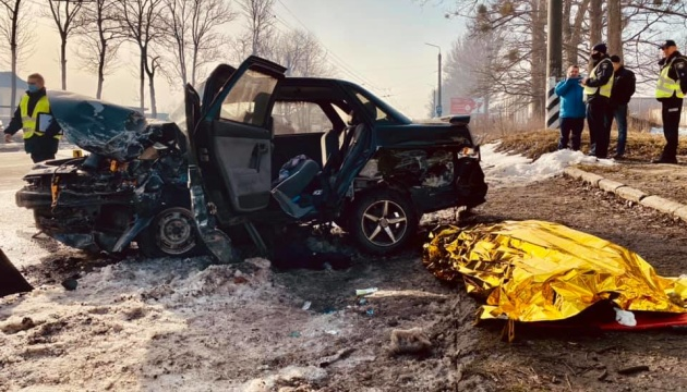 На Прикарпатті у смертельну ДТП потрапили чотири авто