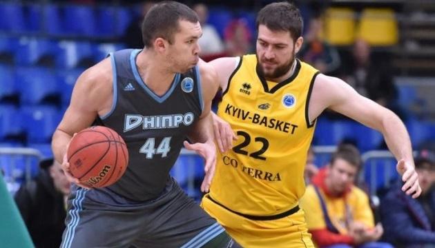 Суперлига: «Днепр» проиграл «Киев-Баскету», победы «Тернополя» и «Черкасских Мавп»