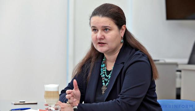 Маркарова готова помогать в сотрудничестве с МВФ, однако это не основная задача посла