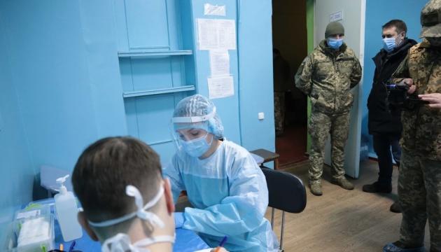 Arrancada la vacunación de los militares contra la COVID-19 en la región de Lugansk