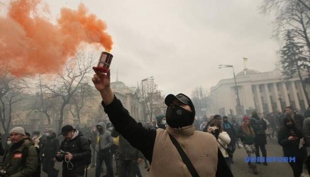 Организаторы акции в поддержку Стерненко заявили, что она будет бессрочной