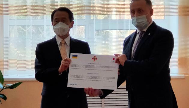 日本政府、ウクライナの軍病院へ検査機器を供与