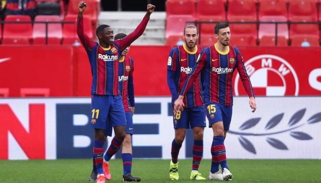«Барселона» обыграла «Севилью» и вышла на второе место Ла Лиги