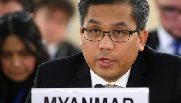 Путчисти в М'янмі відсторонили постпреда при ООН за підтримку протестувальників