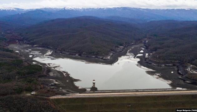 «Міністерство ЖКГ» Криму заявляє, що два водосховища півострова повністю виснажені