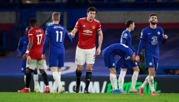 АПЛ: «Челсі» зіграв внічию з «Манчестер Юнайтед»