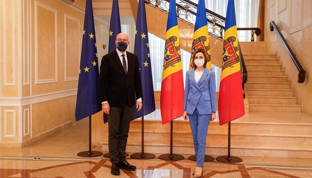 Глава Євроради підтримав розпуск парламенту Молдови
