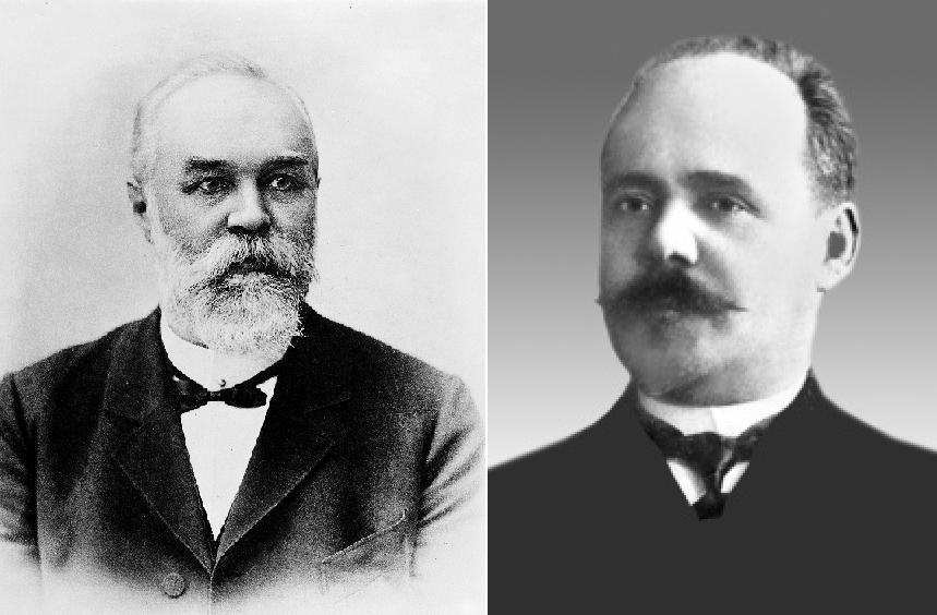 Карл Флюгге та Павло Лащенков