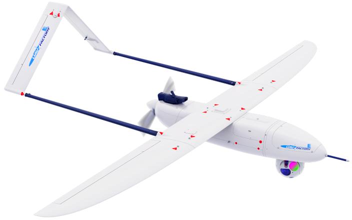 безпілотний літачок Penguin C Mk2 може нести 4 кг вантажу