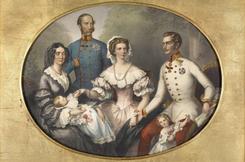 Зразкова родина австрійського цісаря
