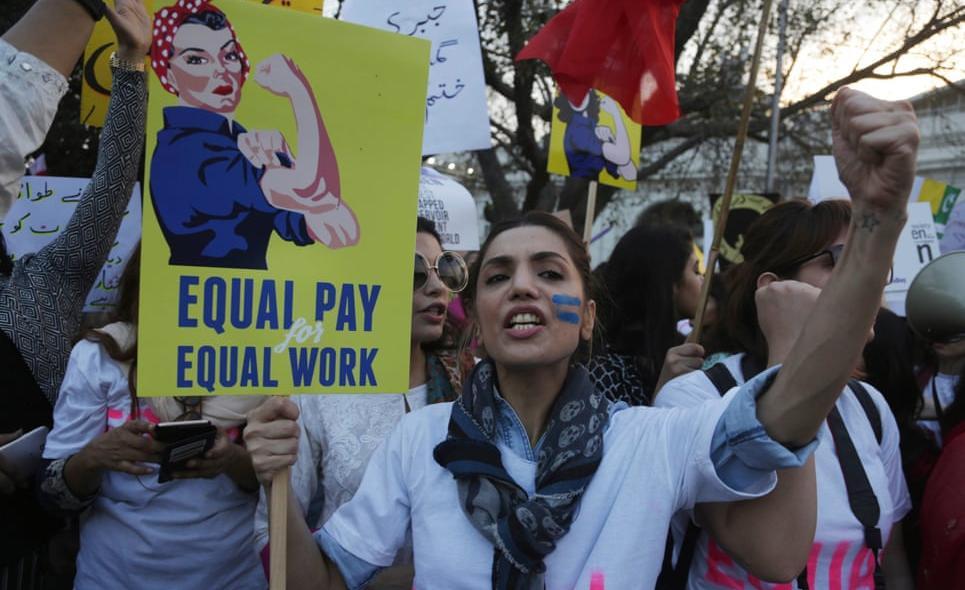 демонстрація за права жінок у Пакистані