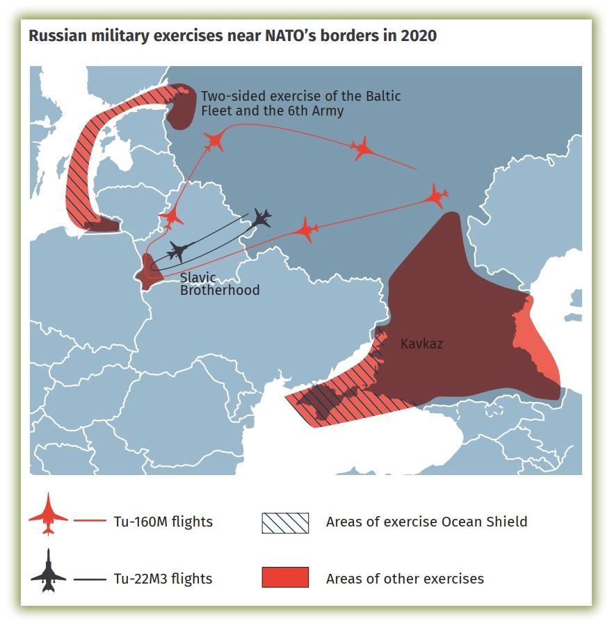 Учения РФ возле границ НАТО