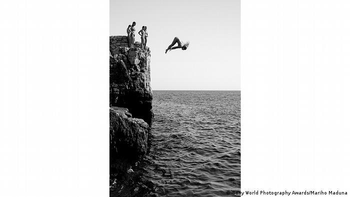 Marijo Maduna (Хорватия) сделала этот снимок на скалистом берегу вблизи города Дубровник и назвала его
