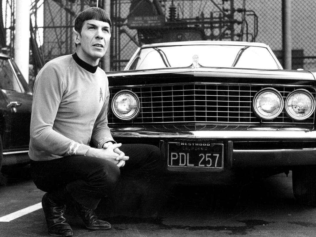 капітан Спок ще у чорно-білому форматі 1, 1965 р.