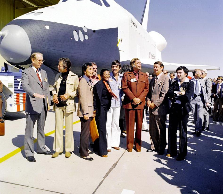 Леонард Німой з-поміж співробітників НАСА