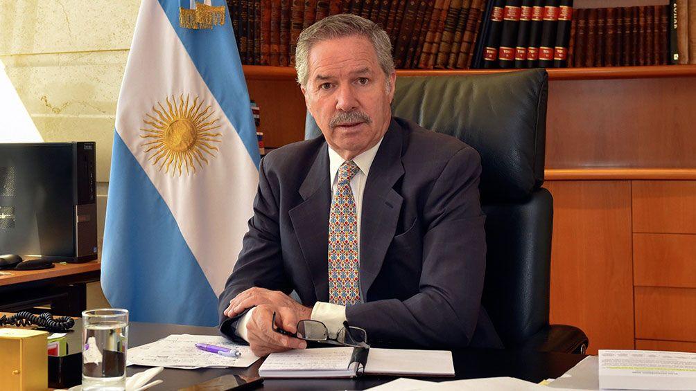 Felipe Solá, ministro de Relaciones Exteriores, Comercio Internacional y Culto de Argentina