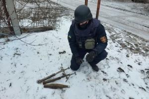 За тиждень на Донбасі рятувальники знешкодили майже 600 вибухонебезпечних предметів