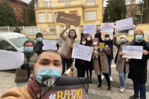 У Празі провели акцію на підтримку Стерненка