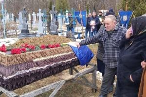 В Винницкой области простились с погибшим в зоне ООС бойцом