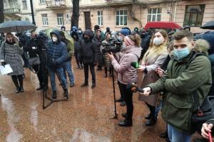 Буковинские предприниматели вышли на акцию против «красного» карантина