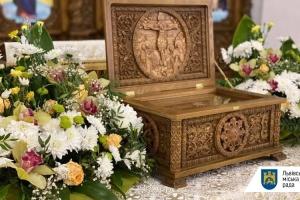 В Україні вперше виставили мощі святих мучениць Віри, Надії та Любові та їх матері Софії