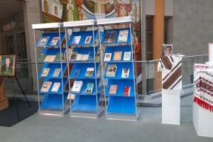 До Національної бібліотеки Білорусі передали українські книжки шрифтом Брайля