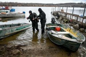 В Запорожье археологи исследуют затонувшие корабли в Днепре