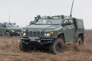 Third shipment of Novator APCs delivered to Ukraine's National Guard