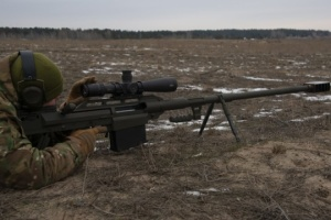Ukrainian Armed Forces adopt large-caliber rifle Alligator
