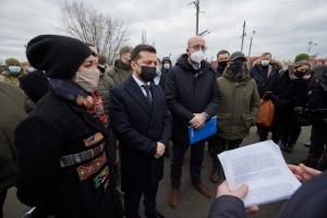 Зеленський і Мішель зустрілися з представниками гуманітарних місій на Донбасі