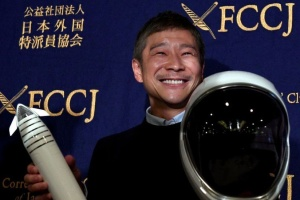 Японский миллиардер ищет попутчиков для путешествия вокруг Луны