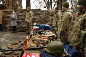 European ambassadors acquainted with mine clearance in JFO area