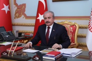 Visit of Turkish parliament's speaker to Ukraine postponed due to death of military