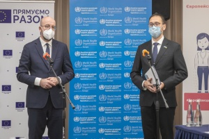 COVID-вакцинація допоможе взяти пандемію під контроль — ВООЗ в Україні