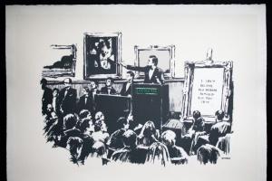 Спалену картину Бенксі продадуть за допомогою блокчейн-технології