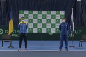 Збірна України з тенісу приймає матчеву зустріч з Ізраїлем у Кубку Девіса
