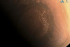 В Китае показали снимки Марса с высоким разрешением