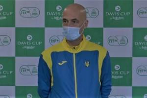 Медведєв: З упевненістю дивимося на матч Кубка Девіса Україна - Ізраїль