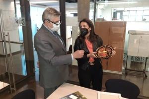Посол України обговорив запровадження україномовних аудіогідів у Барселоні
