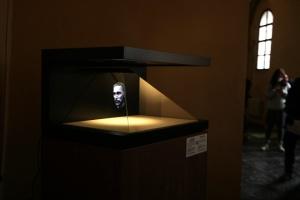 В Киеве показали 3D-голограмму настоящего лица Ярослава Мудрого